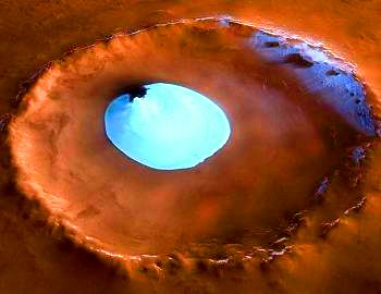 lac pe Marte