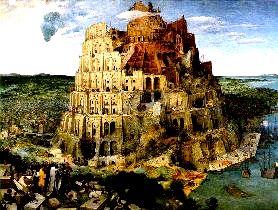 Turnul Babel, pictura lui Bruegel