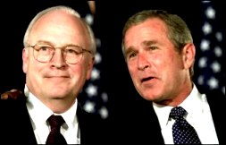 George Bush si Dick Cheney