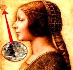 Leonardo da Vinci portret