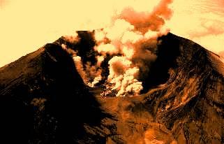 vulcanul Tambora 2