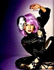 """Lady Gaga si chipul metalic, o referinta la """"personalitatea modificata"""" din programul secret MK Ultra"""