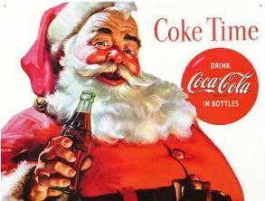 coca-cola Mos Craciun