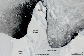 Calota-Polara-Ronne-Filchner (12 ianuarie 2010)