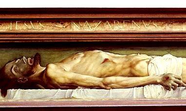 Hans Holbein - Trupul cel mort al lui Hristos în mormânt