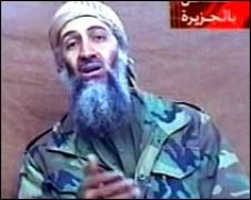 Cum arata bin Laden in caseta din decembrie 2001