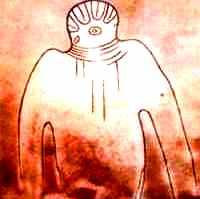 extraterestrul din Muntii Tassili