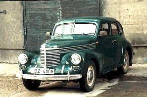 Automobilul Pobeda, copie fidela dupa Opel