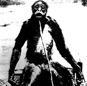 omul maimuta din Venezuela