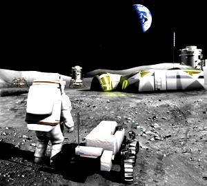 baza lunara