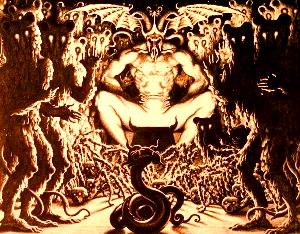 curtea infernului