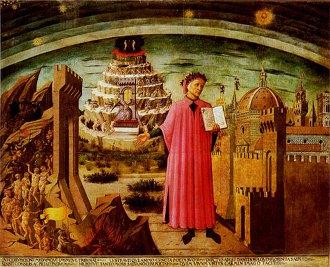 Dante in catedrala Santa Maria del Fiore