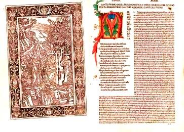 "Versiunea din 1477 a ""Divinei Comedii"""