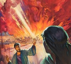 Sodoma si Gomora, atacate cu arme nucleare de Annunaki