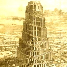 Turnul Babel, turn de lansare al rachetelor spaţiale?