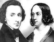 George Sand si Chopin