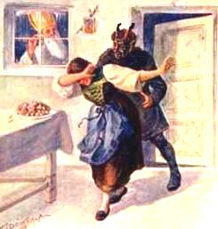 Ajutorul diabolic al lui Mos Craciun - ii pedepseste pe copiii obraznici