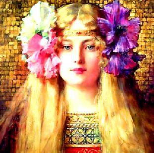 Blonda Francesca şi filozoful Hippolito la judecata şarpelui