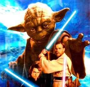 """Cum poţi compara o religie sau filozofie veche şi autentică (zen, tantra, creştinism, budism etc.) cu """"credinţa cavalerilor Jedi""""?"""
