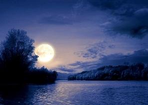 Cine e mai mare? Luna, un lac, un şoricel sau o bufniţă?