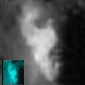 Pe craterul Tycho de pe Lună se găseşte o statuie asemănătoare cu statuile misterioase de pe Insula Paştelui?