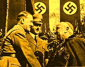 Legătura secretă dintre Hitler şi Biserica Catolică: naziştii erau mari admiratori ai iezuiţilor