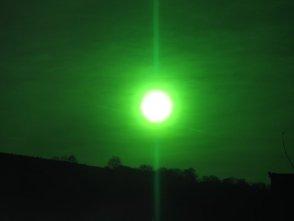 Într-o cronică veche din Transilvania, ni se descrie prezenţa unui Soare verde... Cam bizar!