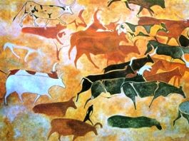 Picturile rupestre de la Tassili, locul de reprezentare a extratereştrilor pe Pământ
