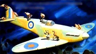 Gremlinii, spiriduşii enervanţi care atacă şi defectează avioanele