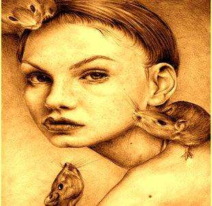 """Incredibila poveste a """"reginei-şobolan"""", creatura supranaturală din canalele londoneze"""