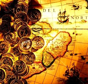 Fabuloasa comoară de la Lima, furată în 1820 de un pirat britanic şi ascunsă în Insula Cocos, ar putea fi redescoperită în 2012