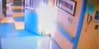 Un înger luminos vindecă o adolescentă de 15 ani aflată pe moarte într-un spital... iar dovada se află pe camera de securitate a spitalului