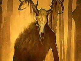 Windigo, o creatură humanoidă gigantică (de 4,5 metri înălţime), păroasă şi urât mirositoare