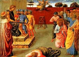 """Cum a căzut din cer Simon Magul, magicianul care se credea """"Fiul lui Dumnezeu"""", asemenea lui Iisus Hristos"""