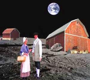 """Oamenii au locuit odată pe Lună şi trăiau până la 1.000 de ani: nu-i aşa că era fain să fii """"lunar""""?"""