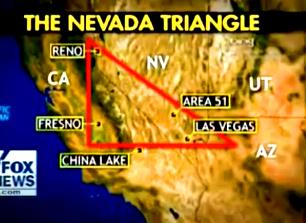 """Triunghiul Nevadei, noul """"Triunghi al Bermudelor"""" din SUA, locul unde avioanele se prăbuşesc şi dispar inexplicabil"""