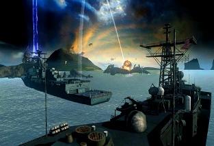 Forţele navale chineze şi americane s-au unit în Oceanul Pacific, pentru a lupta împotriva unei ameninţări extraterestre periculoase