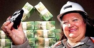 """Gina Rinehart, cea mai bogată femeie din lume, doreşte ca """"prostimea"""" să lucreze pentru 2 dolari pe zi, pentru ca ea să câştige 50 milioane de dolari pe zi"""