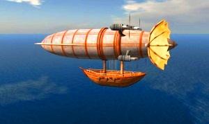 """Cum arătau navele aeriene ale locuitorilor Atlantidei? Un autor american ni le descrie, folosindu-se de """"vederea în timp"""""""
