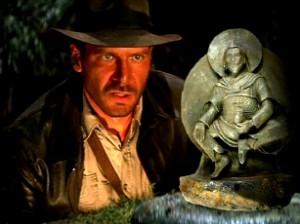 Vă aduceţi aminte de statueta budistă din spaţiu, găsită de nazişti? Da, şi asta e un fals...