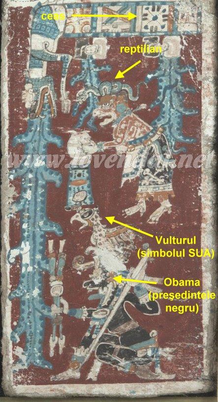 Codexul Dresda, cel mai vechi manuscris mayaş din lume, conţine profeţii despre Obama, reptilieni şi despre un potop universal din viitor