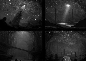 """Din scrisoarea unei fete: """"Noaptea am văzut o formă nedefinită şi neagră, care se prelingea pe tavanul camerei mele"""""""