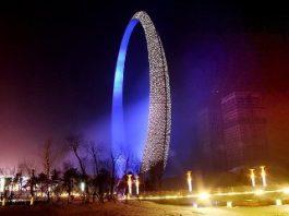 """China a construit o misterioasă structură denumită """"inelul vieţii"""". Unii zic că e o poartă stelară!"""