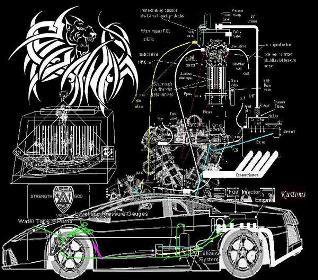 Invenţia secretă din 1979 a domnului Archie Blue, motorul auto cu apă, ar fi putut spulbera într-o clipită averile magnaţilor petrolieri