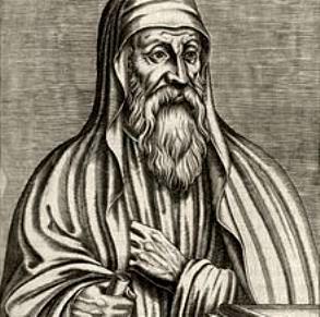 Simbolul ocult al mâinii ascunse, prezent într-o imagine a marelui teolog creştin Origene. Se confirmă că francmasoneria îmbrăţişează gnosticismul!