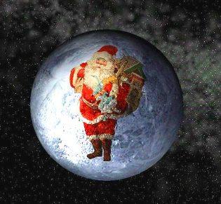 Moş Crăciun e, de fapt, un extraterestru de pe Pluto, care a venit pe Pământ pentru a-i ilumina pe oameni