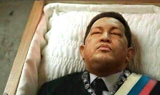 """O nouă dezvăluire a """"Secretelor lui Lovendal"""": Deşi oficial trăieşte, preşedintele Venezuelei, Hugo Chavez, e mort încă din decembrie 2012..."""
