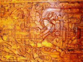În piramida mayaşă de la Palenque se găseşte sarcofagul unui extraterestru!? Enigma basoreliefului ce ar putea reprezenta un astronaut şi nava sa spaţială