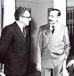Secretarul de stat american, Kissinger si dictatorul militar, Videla