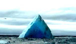 """Şocant! În Alaska s-ar afla îngropată o piramidă gigant, de 350 de metri înălţime, în zona """"Triunghiului Bermudelor din Alaska"""""""